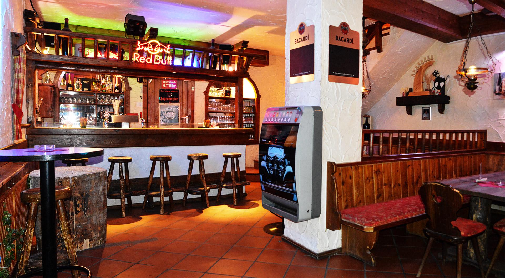 Dorfschenke Mühlbach - Die Bar